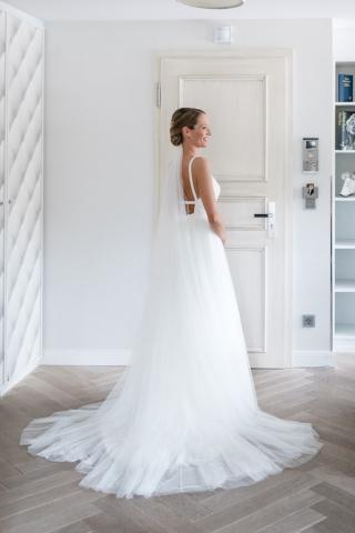 Braut Getting Ready Hochzeit Brautporträt