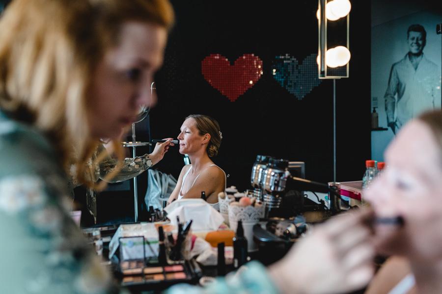Hochzeit Make-Up